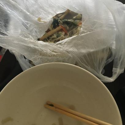 ...in a plastic bag